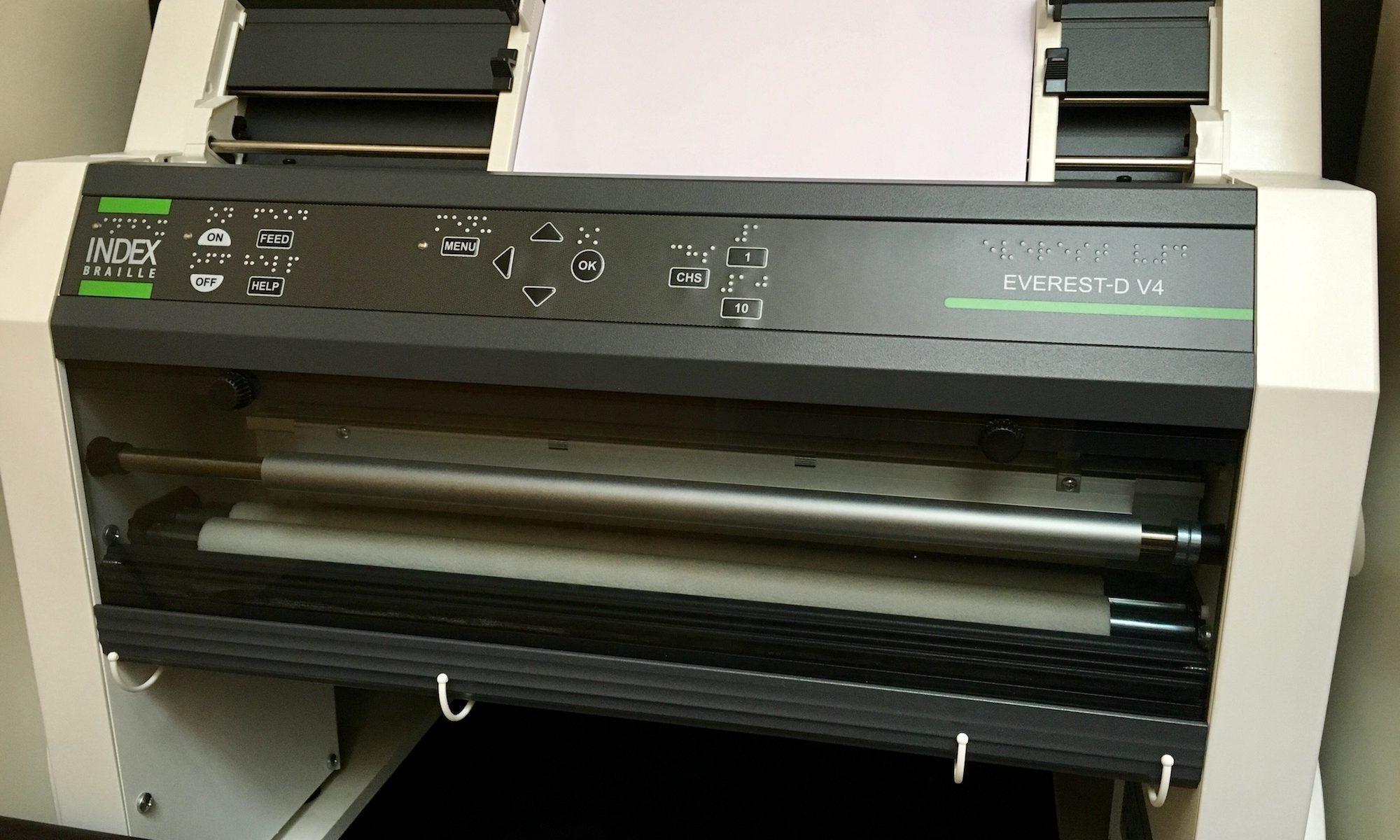 Brailledrucker index everest v4