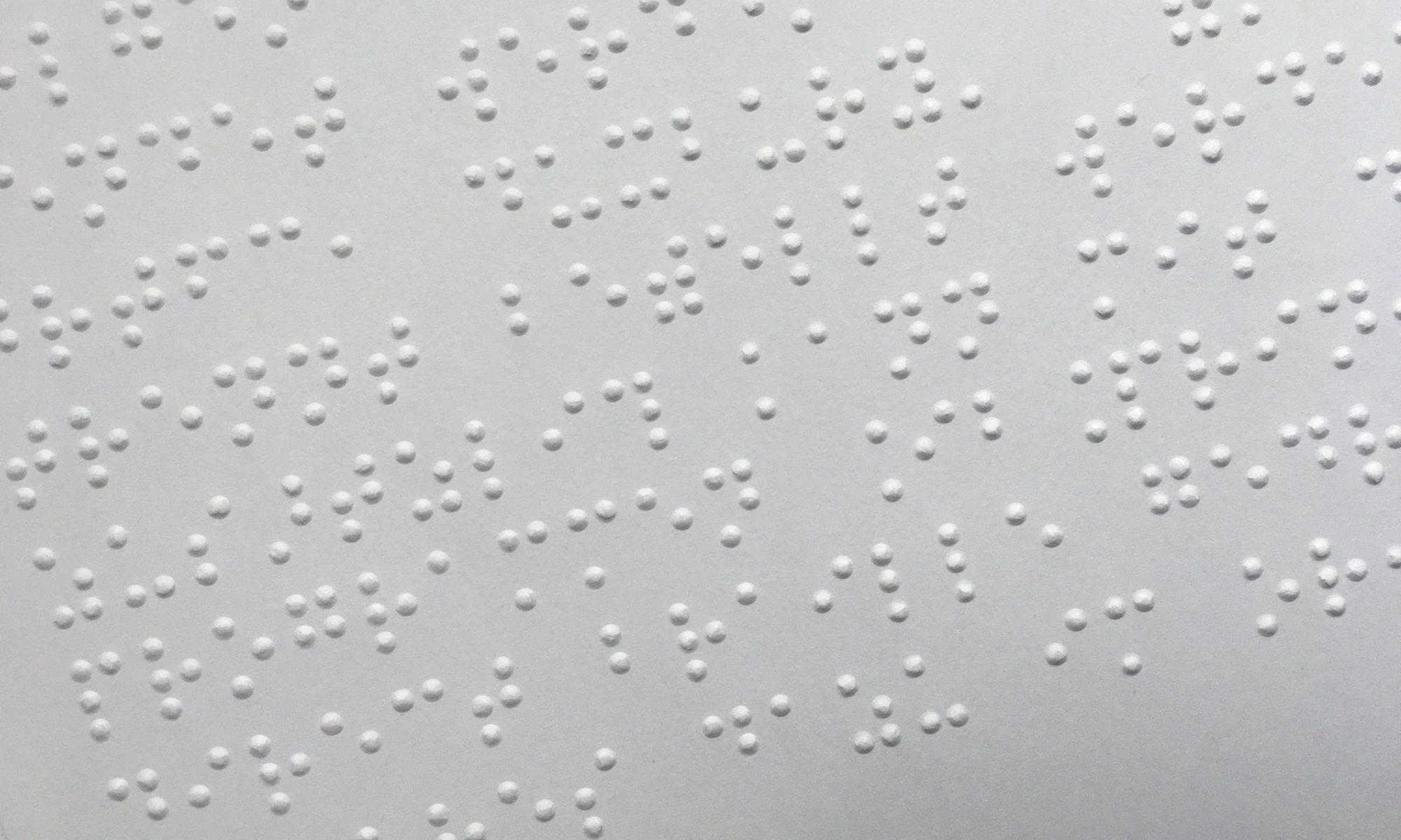 Punktschrift im Detail